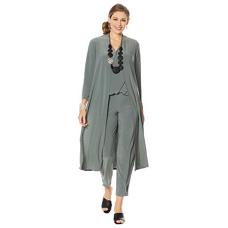 MarlaWynne Duster with High Slits