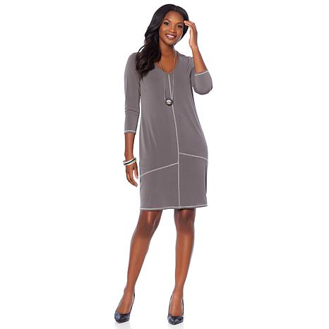MarlaWynne Luxe Crepe Dress