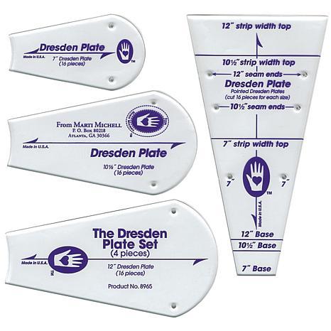 Marti Michell Template - Regular Dresden Plate