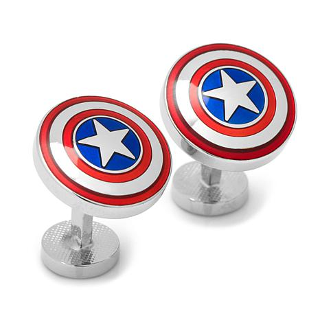 Marvel Captain America Men's Cuff Links