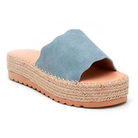 Matisse Beach Palm Slide Sandal