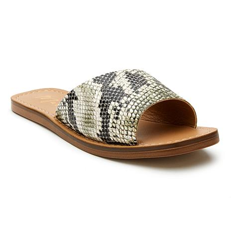 Matisse Sage Peep-toe Leather Sandal