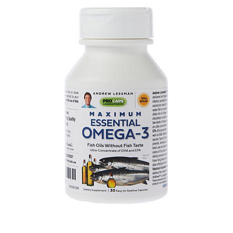 Maximum Essential Omega-3 Mint - 30 Capsules
