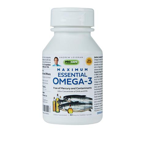 Maximum Essential Omega-3 Unflavored - 30 Capsules