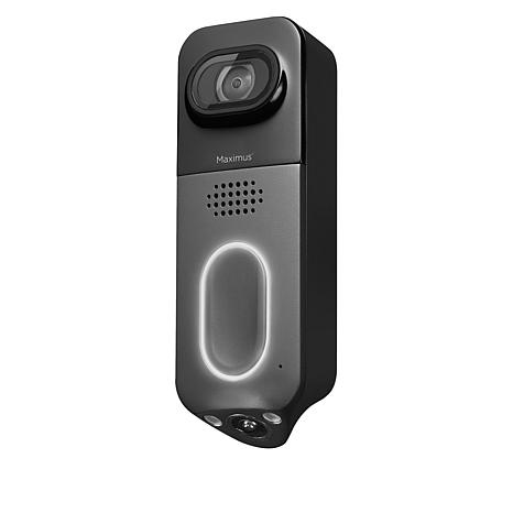 Maximus Answer DualCam Video Doorbell with Alarm and Two-Way Talk