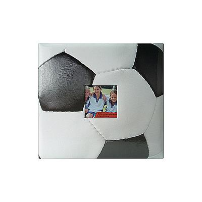 MBI Sport and Hobby Post Bound Album W/Window 12X12 - Soccer
