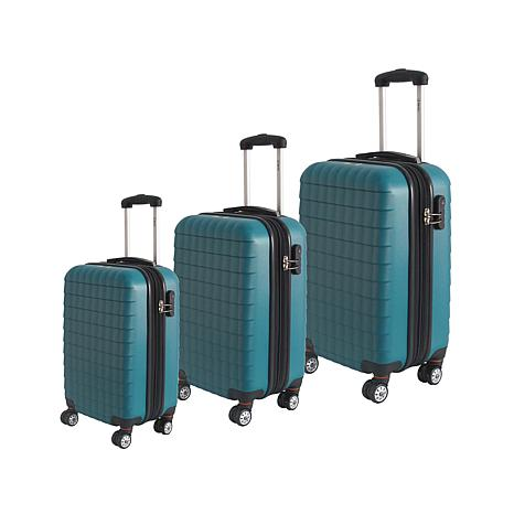 McBrine Eco-Friendly 3-piece Hard-Sided Luggage Set