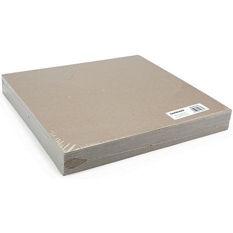 Medium Weight Chipboard Sheets 12X12 25/Pkg - Natural