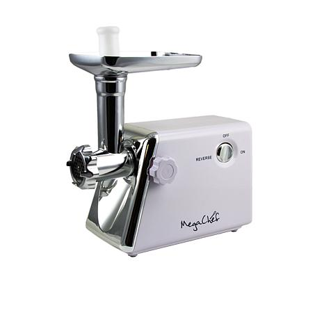 MegaChef 1200 Watt Ultra Powerful Automatic Meat Grinder for Househ...