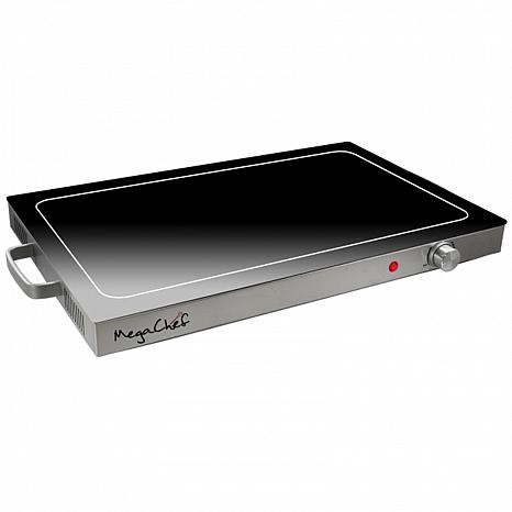 MegaChef Electric Warming Tray with Adjustable Temperature Control