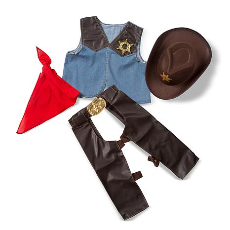 Melissa & Doug Cowboy Role-Playing Set