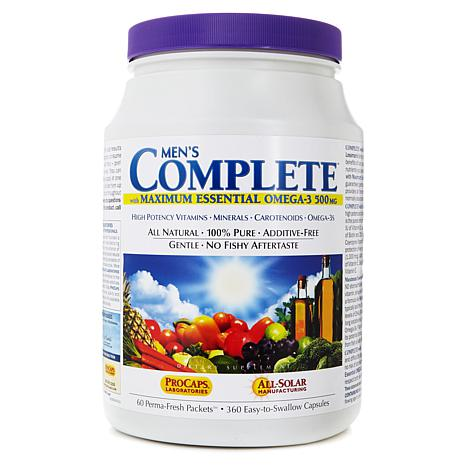 Men's COMPLETE w/Maximum Essential OMEGA-3-60 Pkts AS