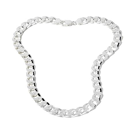 silver yard by products the inch sterling jewelure cz necklace