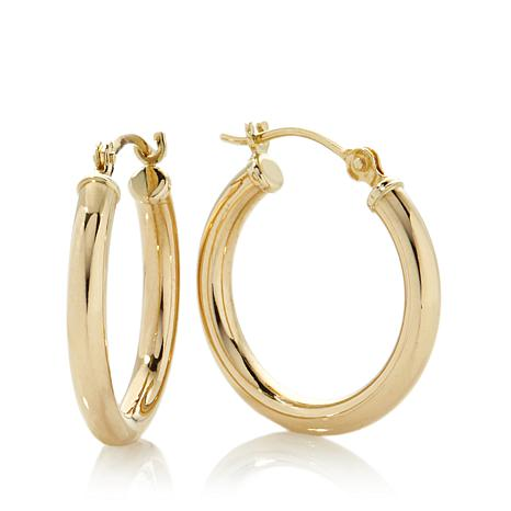 Michael Anthony Jewelry 10k Yellow Gold 3 4 Hoop Earrings