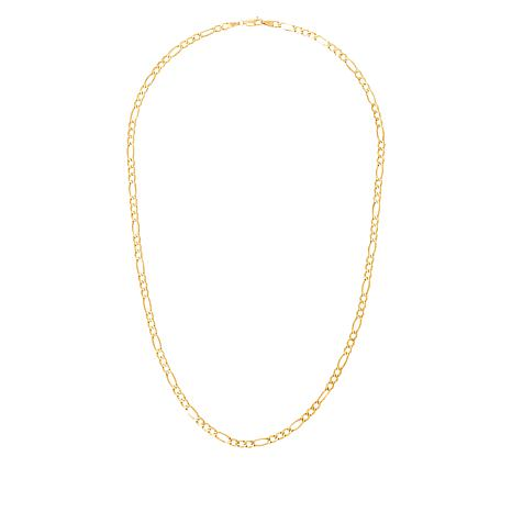 "Michael Anthony® 10K Gold 3.9mm Figaro 20"" Chain"