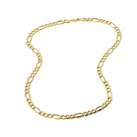 """Michael Anthony® 10K Yellow Gold Figaro 22"""" Necklace"""