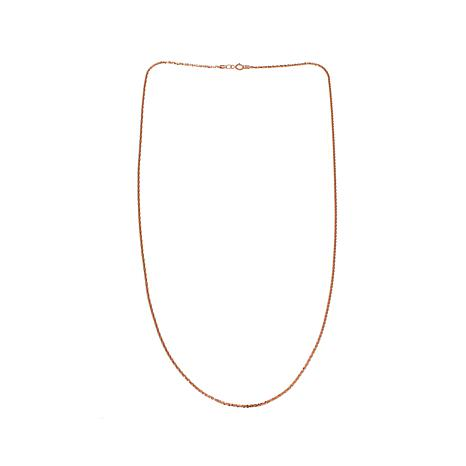 Michael Anthony Jewelry® 10K 1.1mm Brilliant Chain 18""