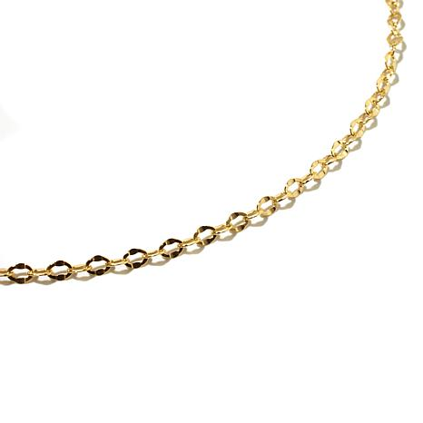 "Michael Anthony Jewelry® 10K 16"" Cable Chain Necklace"