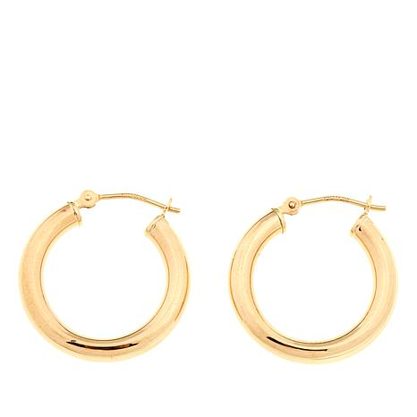 Michael Anthony Jewelry® 10K 20mm Polished Hoop Earrings