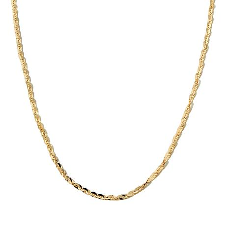 "Michael Anthony Jewelry® 10K Cleo Link 18"" Chain"