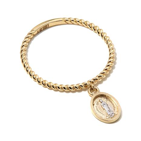 Michael Anthony Jewelry® 10K Gold Miraculous Charm Ring
