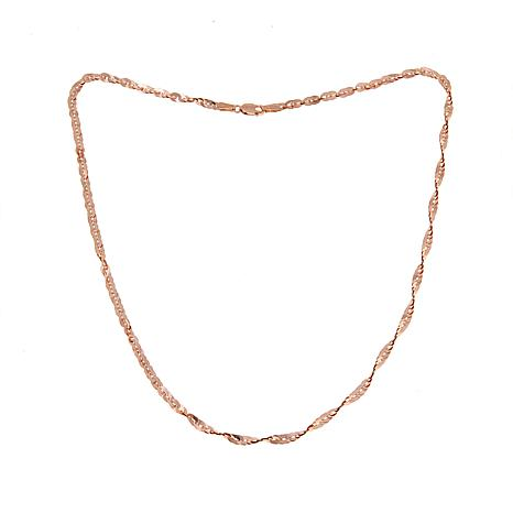 Michael Anthony Jewelry® 10K Rose Gold Cleo Chain - 16""