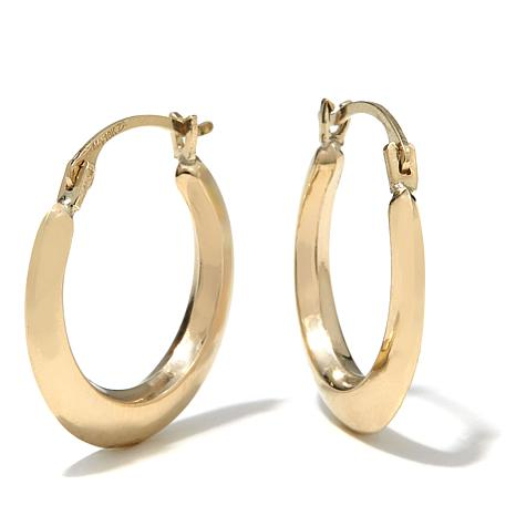 michael hoop earrings michael anthony jewelry 174 10k hoop earrings 8214776 7600