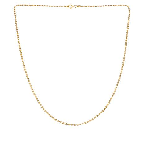 Michael Anthony Jewelry® 10K Valentino Chain Necklace - 18""
