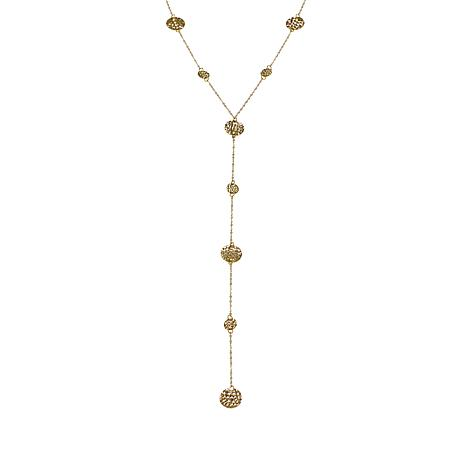 Michael Anthony Jewelry® 10K Yellow Gold Multi-Station Lariat Necklace