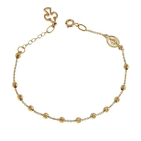 Michael Anthony Jewelry® 14K Guadalupe Beaded Bracelet
