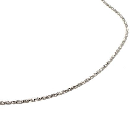 "Michael Anthony Jewelry® 1.4mm Napoli Rope 16"" Chain"