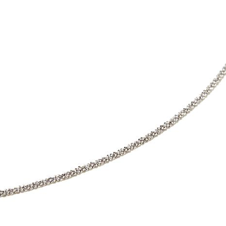 "Michael Anthony Jewelry® 18"" Sparkle Rope Chain"