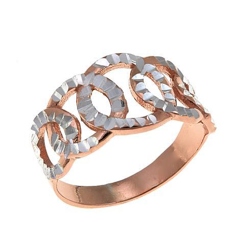 Michael Anthony Jewelry® 2-Tone Circle Band Ring