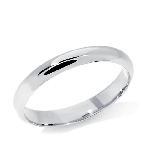 Michael Anthony Jewelry® 3mm 10K White Gold Tube Band