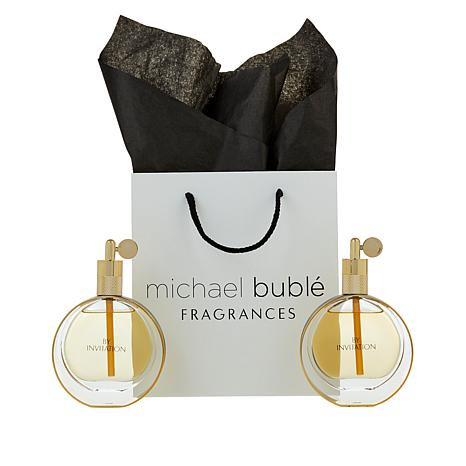 Michael Buble By Invitation 1.7 oz. EDP 2-pack with Gift Bag