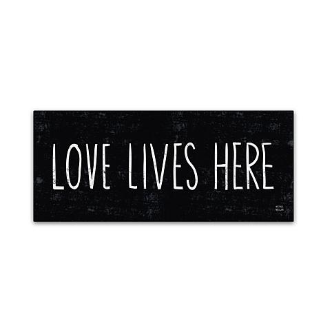 "Michael Mullan ""Love Lives Here"" Canvas Art"