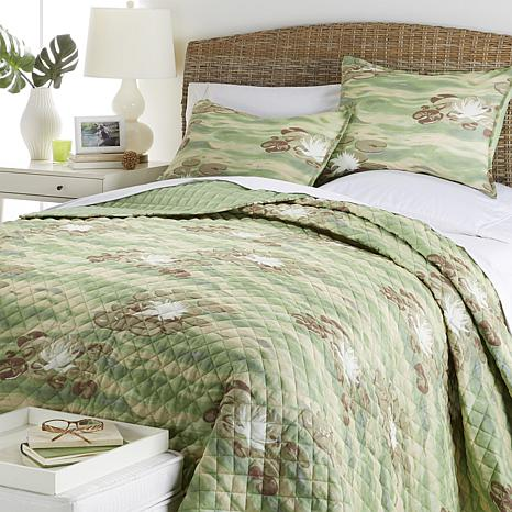 Michelle George Ocean Teddy 100% Cotton 3-piece Quilt Set