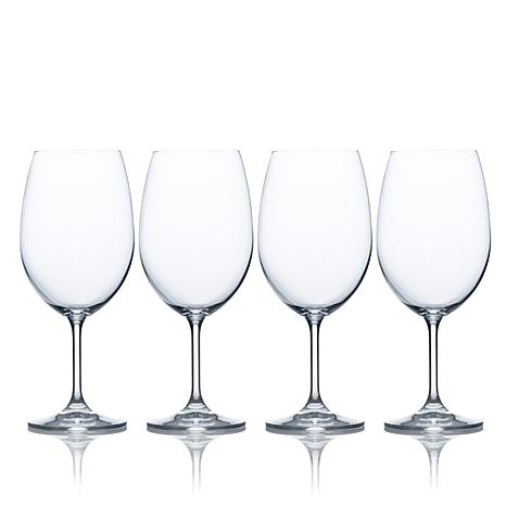 Mikasa Laura Set of 4 Crystal Goblets