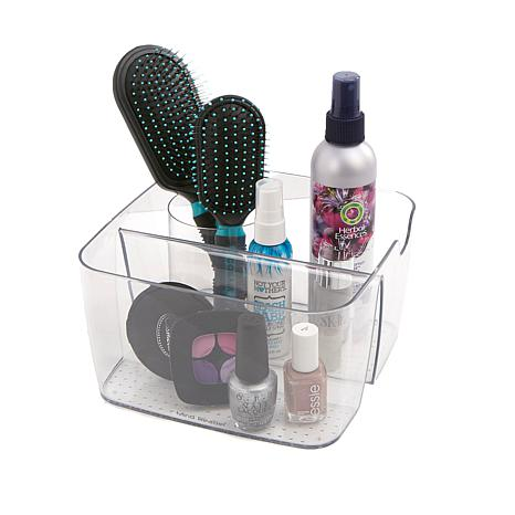 Mind Reader 5-Compartment Acrylic Cosmetic Organizer