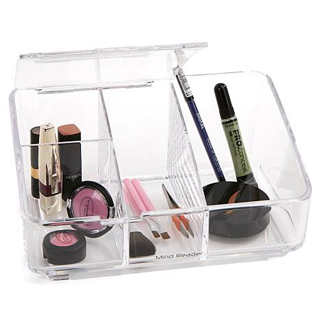 Mind Reader Acrylic Cosmetic Organizer