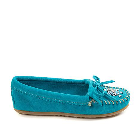 "Minnetonka ""Me To We"" Beaded Suede Moccasin"