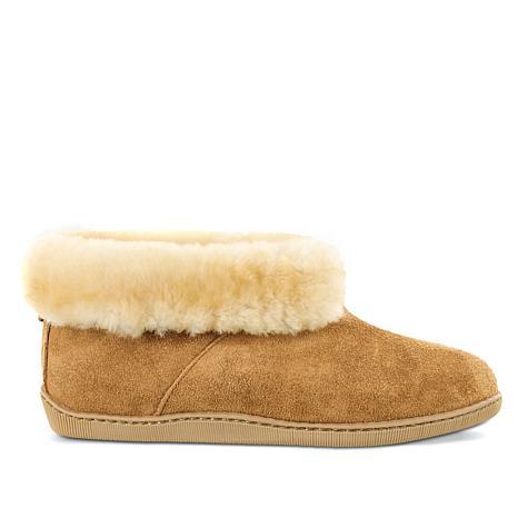 Minnetonka Mens Sheepskin Ankle Boot