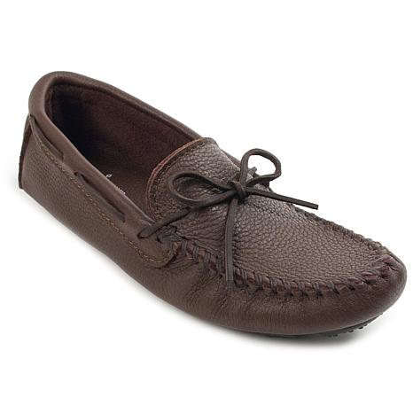Minnetonka Moosehide Leather Driver Moccasin