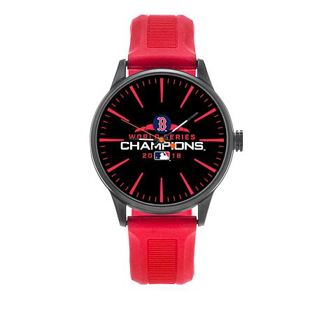 MLB 2018 World Series Champs Silicone Strap Cheer Watch