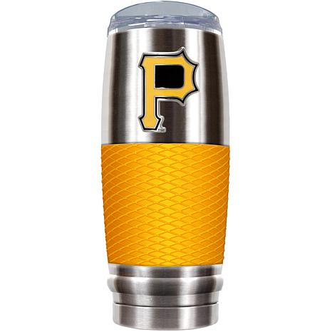 MLB 30 oz. Stainless/Yellow Reserve Tumbler - Pirates