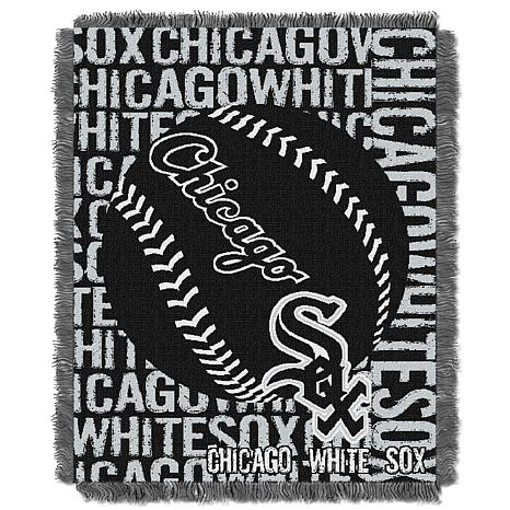 MLB Double Play Woven Throw - Chicago White Sox
