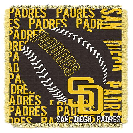 MLB Double Play Woven Throw - San Diego Padres