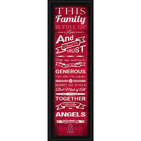 MLB Family Cheer Framed Art by Photo File