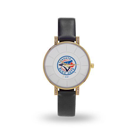 """MLB Sparo """"Lunar"""" Strap Watch - Blue Jays"""