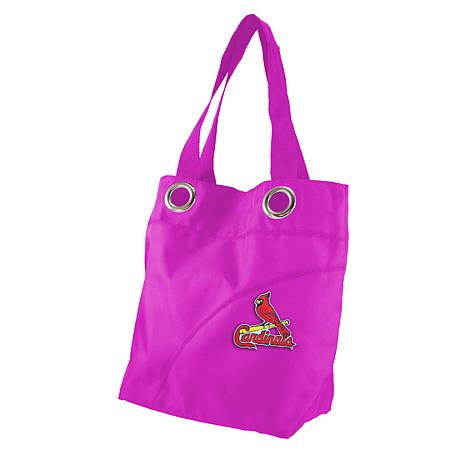 MLB St. Louis Cardinals Color Sheen Tote
